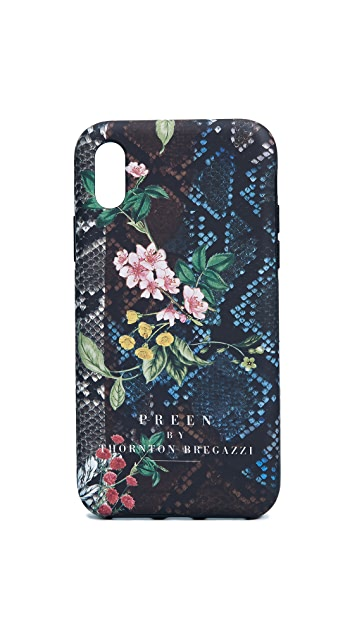 Preen By Thornton Bregazzi Snake iPhone Case