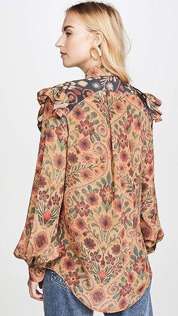 Preen By Thornton Bregazzi Talitha 女式衬衫