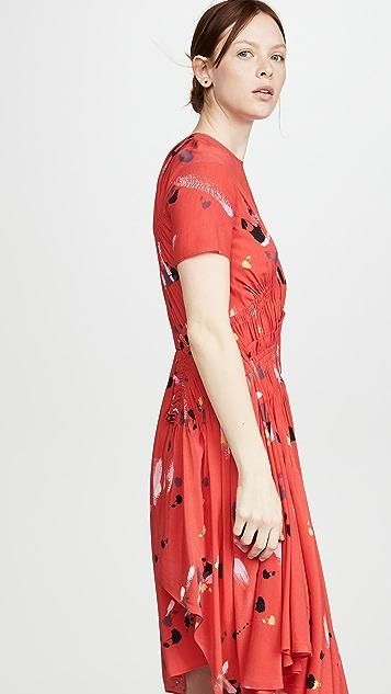 Preen By Thornton Bregazzi Preen Line Violet Dress