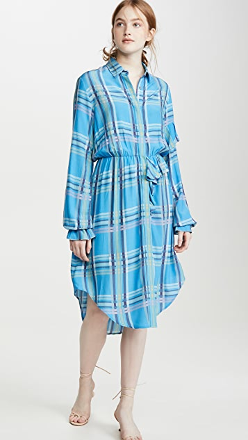 Preen By Thornton Bregazzi Preen Line Primrose 衬衣连衣裙