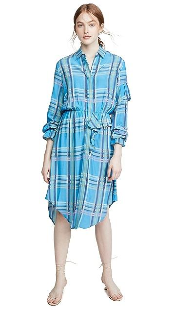 Preen By Thornton Bregazzi Preen Line Primrose Shirtdress
