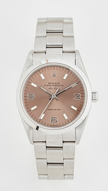 Pre-Owned Rolex Gents Rolex Air King Salmon Dial, Smooth Bezel, Oyster Band