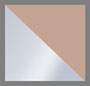 серебряный/лососевый