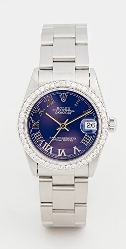 Pre-Owned Rolex - Mid Size 31mm Rolex Date Just Blue