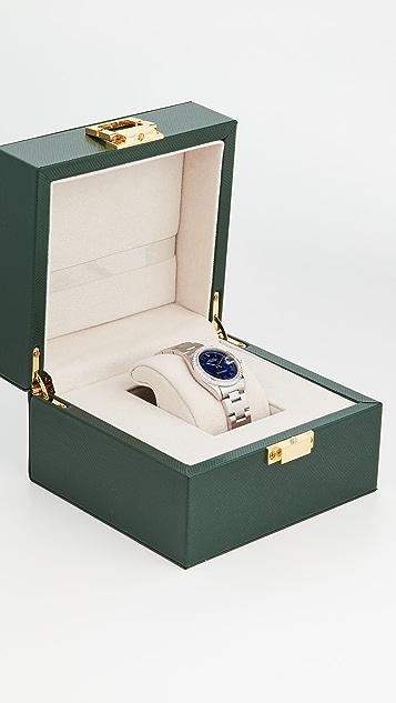 二手 Rolex 中等尺寸 31mm Rolex Date Just 蓝色腕表
