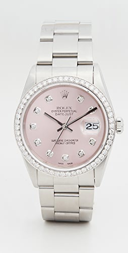 Pre-Owned Rolex - 36mm Gents Rolex Date Just Pink