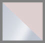 银色/粉色