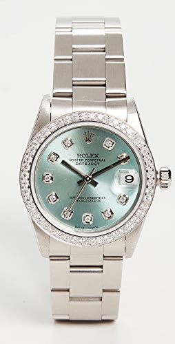 Pre-Owned Rolex - Mid Size 31MM Rolex Just Ice Blue