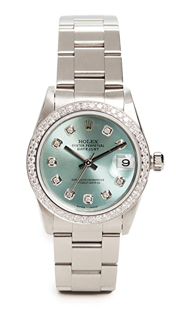 Pre-Owned Rolex Mid Size 31MM Rolex Just Ice Blue