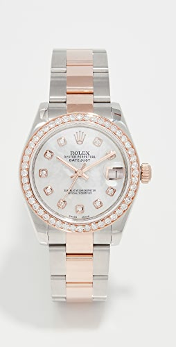 Pre-Owned Rolex - Rose Gold Rolex Datejust Mid Size 31mm