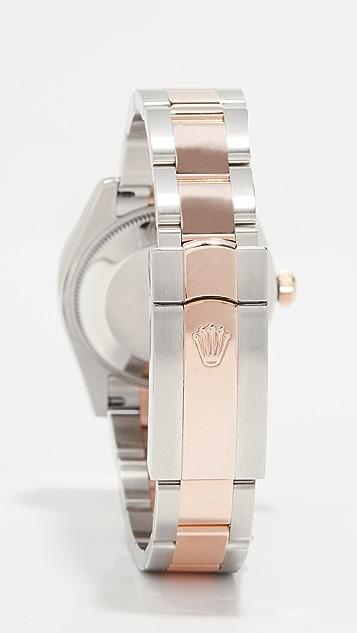 二手 Rolex 玫瑰金 Rolex Datejust 中等尺寸腕表 31mm