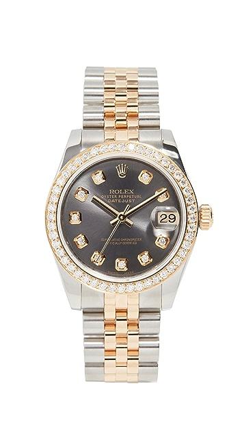 二手 Rolex Rolex Datejust 灰钻腕表 31mm