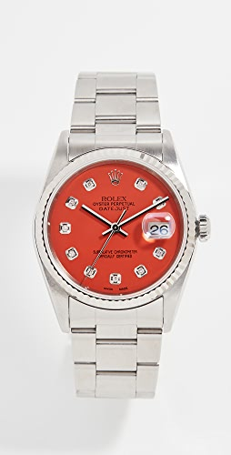 Pre-Owned Rolex - Rolex Datejust Model Coral Red Diamond Watch 36mm