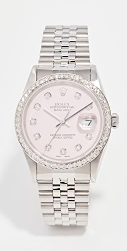 Pre-Owned Rolex - 36mm Rolex Datejust Model Candy Pink Watch