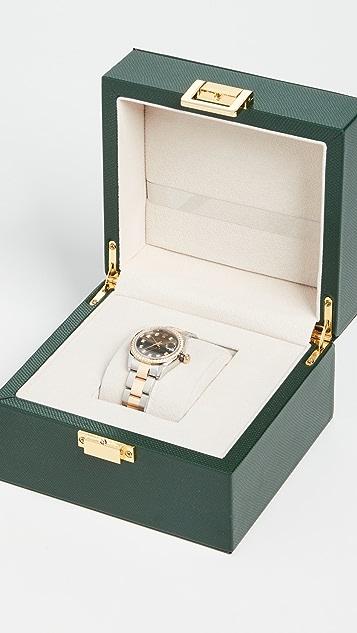 中古 Rolex 36mm TT Datejust Grey DD DB Oyster