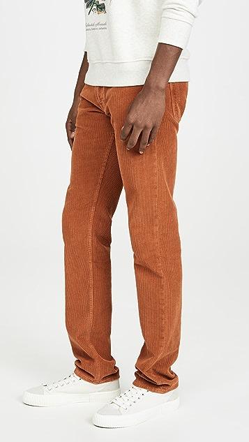 President's Icarus Cut Hem Corduroy Trousers