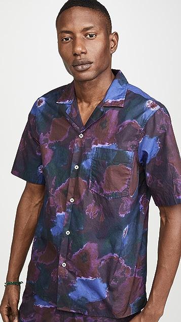 President's Rangi Psycho Flower Popeline Shirt