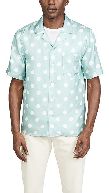 President's Rangi Dot Silk Shirt