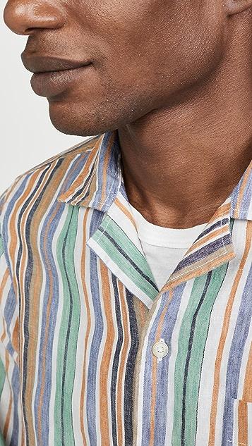 President's Rangi Solbiati Stripe Shirt