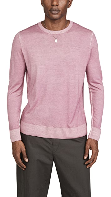 President's Crew Neck Wool & Cashmere Sweater