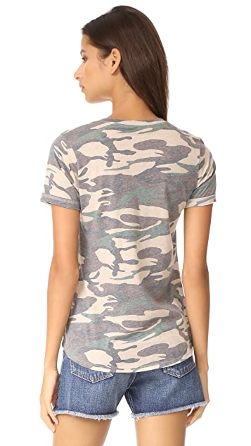 Prince Peter Camo Distressed Tee