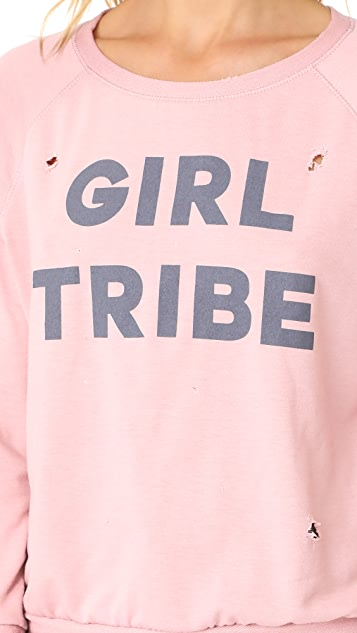 Prince Peter Girl Tribe Distressed Pullover Top