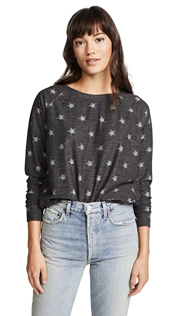 Prince Peter Distressed Stars Pullover