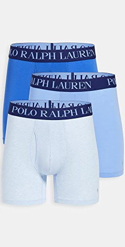 Polo Ralph Lauren Underwear - 3 Pack 4D-Flex Lightweight Boxer Briefs
