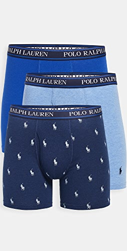 Polo Ralph Lauren Underwear - 3 Pack Stretch Classic Fit Boxer Briefs