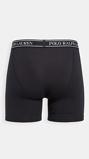 Polo Ralph Lauren Underwear 3 Pack Stretch Classic Fit Boxer Briefs