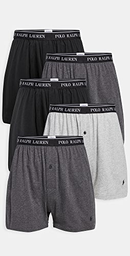 Polo Ralph Lauren Underwear - 5 Pack Classic Fit Boxer Briefs