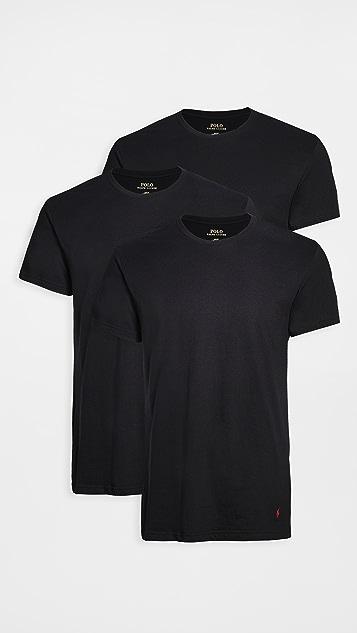 Polo Ralph Lauren Underwear 3 Pack Slim Fit Crew Tees