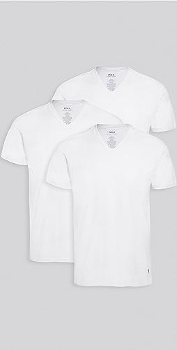 Polo Ralph Lauren Underwear - 3 Pack Slim Fit V Neck Tees