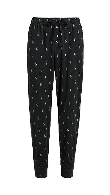 Polo Ralph Lauren Underwear Jersey Knit Joggers Pants