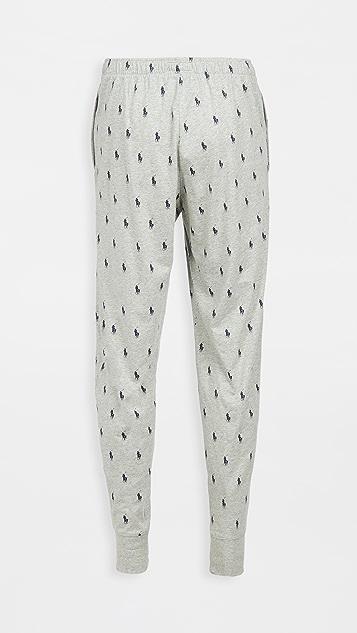 Polo Ralph Lauren Underwear Jersey Knit Jogger Pants