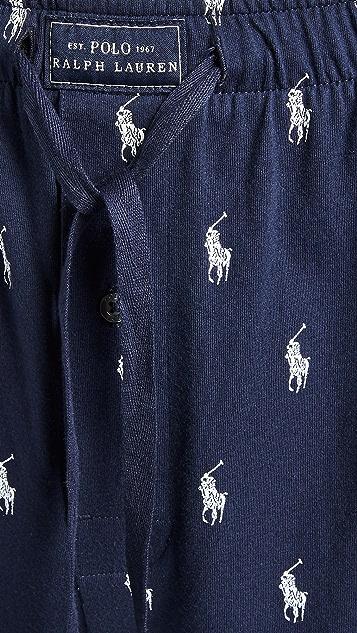 Polo Ralph Lauren Underwear Jersey Knit Sleep Shorts