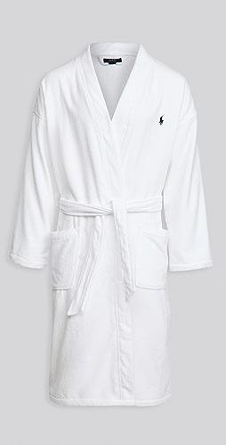 Polo Ralph Lauren Underwear - Solid Velour Kimono Robe