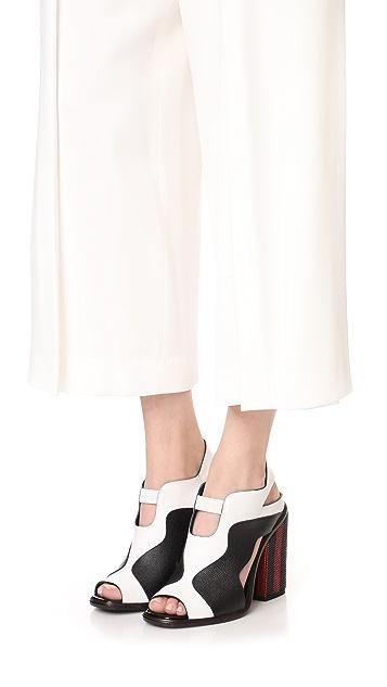 Proenza Schouler Block Heel Sandals