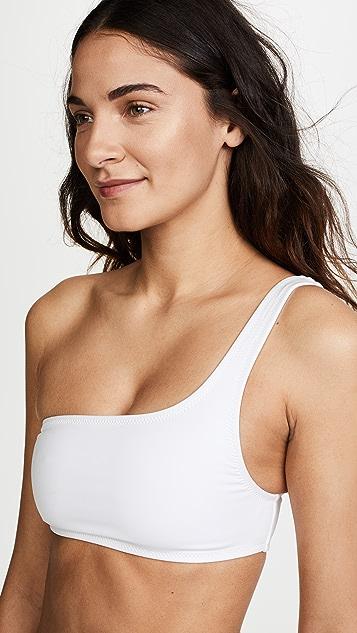Proenza Schouler One Shoulder Bikini Set
