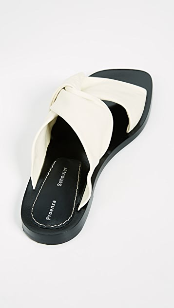 Proenza Schouler Crossover Sandals