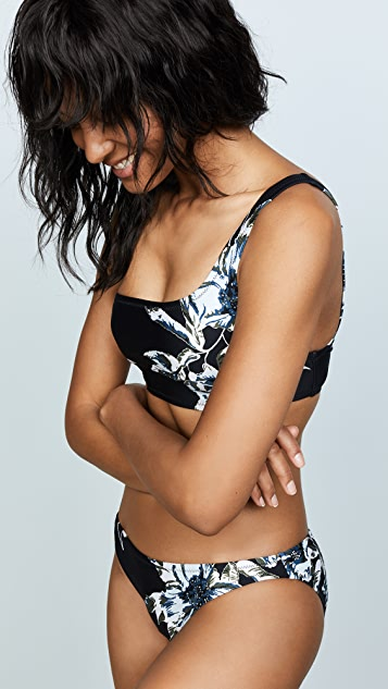 Proenza Schouler One Shoulder Bikini Set