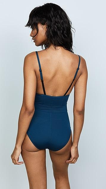 Proenza Schouler Underwire Lingerie Swimsuit