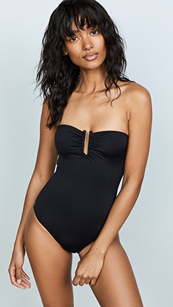 Proenza Schouler Bandeau Swimsuit