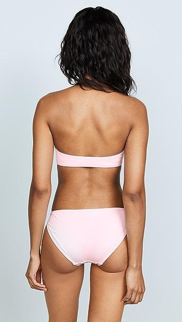 Proenza Schouler Bandeau Top Bikini Set
