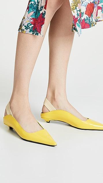 Proenza Schouler 露跟平底鞋