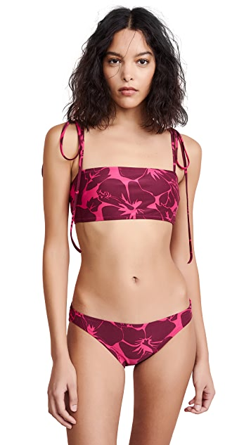 Proenza Schouler Bandeau Bikini Set
