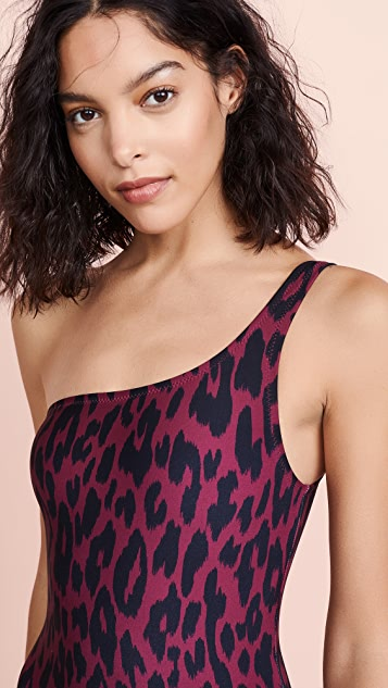 Proenza Schouler One Shoulder One Piece Swimsuit