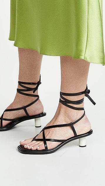 Proenza Schouler Wrap Sandals