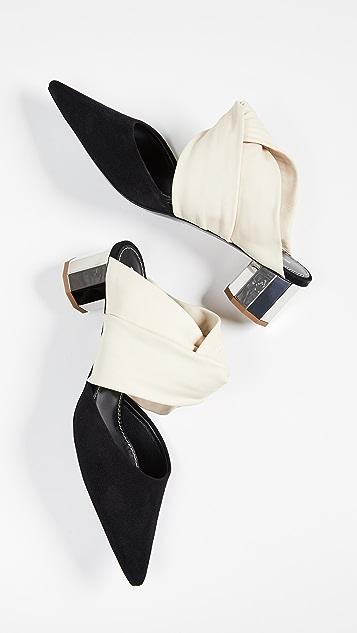 Proenza Schouler Pointed Toe Mules
