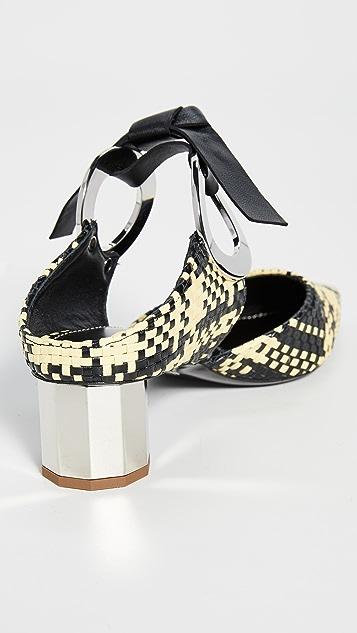 Proenza Schouler Плетеные туфли без задников